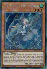 SPWA-EN031 - Secret Rare - 1st Edition - The Weather Painter Cloud