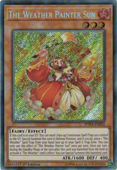 SPWA-EN032 - Secret Rare - 1st Edition - The Weather Painter Sun