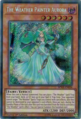 SPWA-EN034 - Secret Rare - 1st Edition - The Weather Painter Aurora