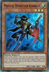 SPWA-EN018 - Super Rare - 1st Edition - Magical Musketeer Kidbrave
