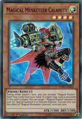 SPWA-EN020 - Super Rare - 1st Edition - Magical Musketeer Calamity