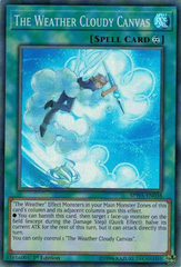 SPWA-EN038 - Super Rare - 1st Edition - The Weather Cloudy Canvas