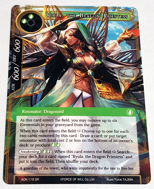 ADK-115 - SR - Viola, the Dragon Priestess