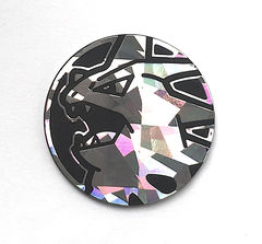 Mega Tyranitar EX Coin Shattered Foil