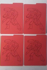 4x Dividers (Shining Legends Genesect)