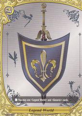 PR/0043EN Legend World Flag Card