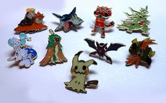 1x Random Pokemon Pin
