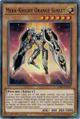 EXFO-EN016 Mekk-Knight Orange Sunset Common 1st Ed