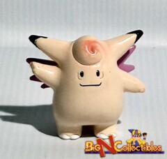 Vintage Pokemon Figure Clefable #36 by TOMY