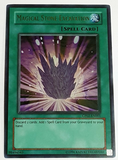 Magical Stone Excavation - CP02-EN001 - Ultra Rare - Unlimited Edition