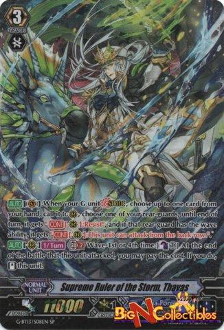 G-BT13/S08EN - SP - Supreme Ruler of the Storm, Thavas