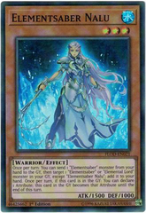 Elementsaber Nalu - FLOD-EN021 - Super Rare - 1st Edition
