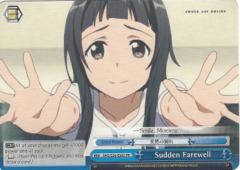 Sudden Farewell SAO/S26-E085