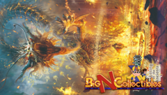 Force of Will Awakening of the Ancients Flame Dragon Summoning Playmat