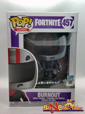 Funko Pop! Games Series - #457 - Burnout (Fortnite) Vaulted