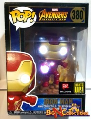 Funko Pop! Marvel - Avengers Infinity War - Iron Man Light Up #380 Exclusive