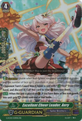 Excellent Cheer Leader, Aery - G-FC03/039EN - RR