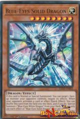 LED3-EN002 - Blue-Eyes Solid Dragon - Ultra Rare - 1st Edition