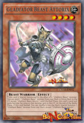 CHIM-EN012 - Gladiator Beast Attorix - Rare - 1st Edition