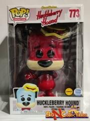 "Funko Pop! Animation - 10"" Inch Huckleberry Hound #773 CHASE Funkos Shop Exclusive"