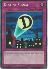 DESO-EN059 - Destiny Signal - Super Rare - 1st Edition