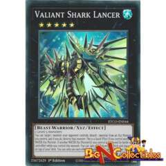 ETCO-EN044 - Valiant Shark Lancer - Super Rare - 1st Edition
