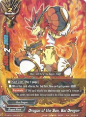 D-BT01/0022EN - R - Dragon of the Sun, Bal Dragon
