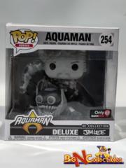 Funko Pop! Heroes Aquaman Deluxe Black & White #254 Exclusive
