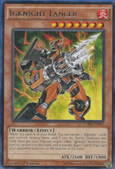 Igknight Lancer - CORE-EN032 - Rare - 1st Edition