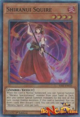 SAST-EN019 - Shiranui Squire - Super Rare - 1st Edition