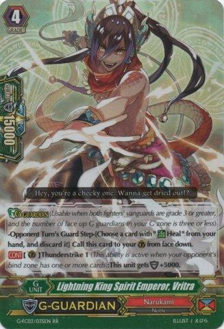 G-FC03/035EN - RR - Lightning King Spirit Emperor, Vritra