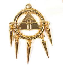 Yugioh Millennium Ring (Metal) 2.5