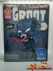 Funko Pop! & Tee Marvel - Venomized Groot #511 GITD Exclusive Sealed Large