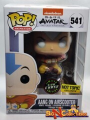 Funko Pop! Avatar The Last Airbender - Aang on Airscooter #541 GITD CHASE Exclusive