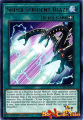 LED3-EN015 - Super Strident Blaze - Rare - 1st Edition