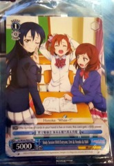LL/W34-PE02 PR Study Session With Everyone Umi, Honoka, Maki