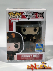 Funko Pop! Movies Johnny Rico #735 2019 SDCC Shared Exclusive