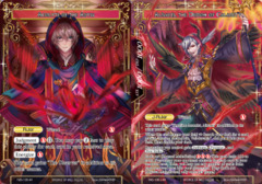 TMS-106 J AR Full Art Acolyte of the Abyss / Alisaris, the Demon of Calamity