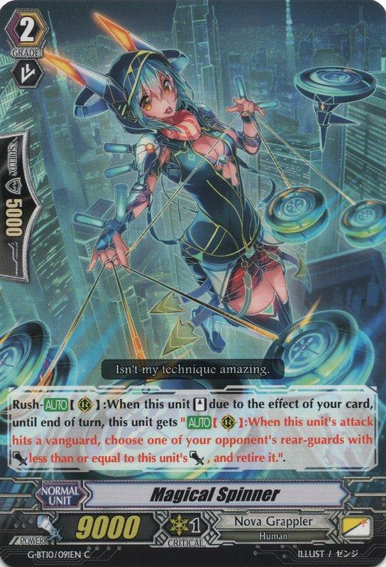 G-BT10/091EN - C - Magical Spinner