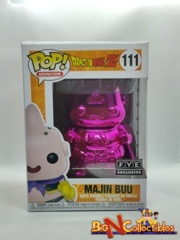 Funko Pop! Animation - Dragon Ball Z - Majin Buu #111 Pink Chrome Exclusive