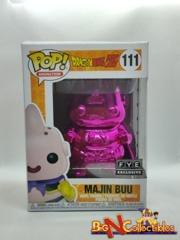 Funko Pop! Animation - Dragon Ball Z - Majin Buu #111 Pink Chrome Exclusive