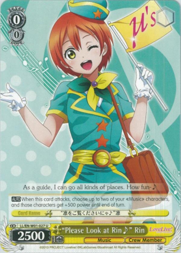 LL/EN-W01-027 U Please Look at Rin  Rin