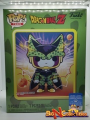 Funko Pop! & Tee Dragon Ball Z - Perfect Cell #19 Metallic Exclusive Sealed Large
