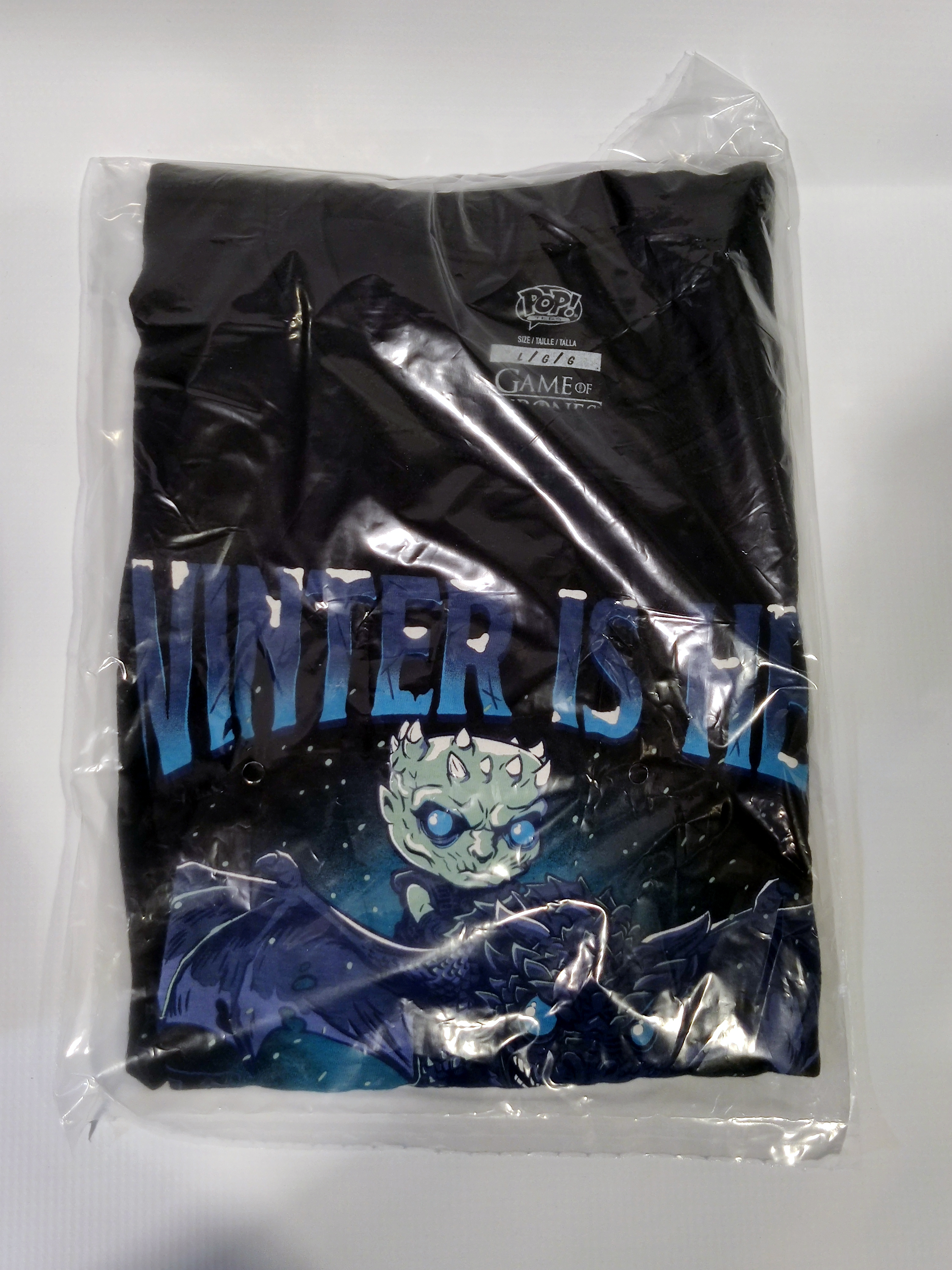 Funko! Tees Icy Viserion T-Shirt Large