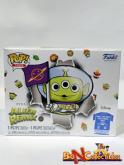 Funko Pop! Disney Pixar Alien Remix Buzz Lightyear GITD + Tee XL In Hand