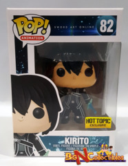 Funko Pop! Animation - Sword Art Online - Kirito #82 Exclusive Vaulted