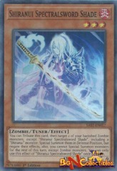 SAST-EN017 - Shiranui Spectralsword Shade - Super Rare - 1st Edition