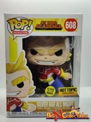 Funko Pop! My Hero Academia - Silver Age All Might #608 GITD Exclusive