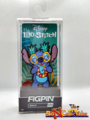 Figpin Disney Stitch With Glasses 424 - Exclusive