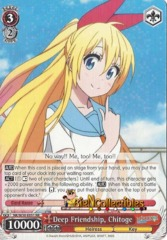 NK/W30-E051 - Deep Friendship, Chitoge - RR